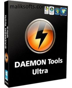 DAEMON Tools Ultra 5.8.0 Crack + Serial Key Full Version Download