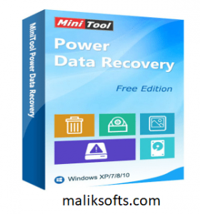 MiniTool Power Data Recovery 8.8 Crack+ Serial Key Download