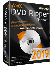 WinX DVD Ripper Platinum 8.9.2 Crack + Keygen Free Download