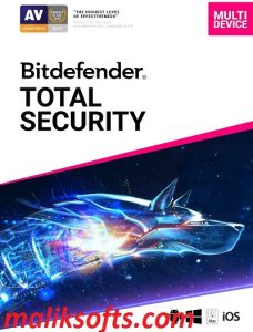 Bitdefender Total Security  25.0.21.78 Crack + License key Free Download 2021